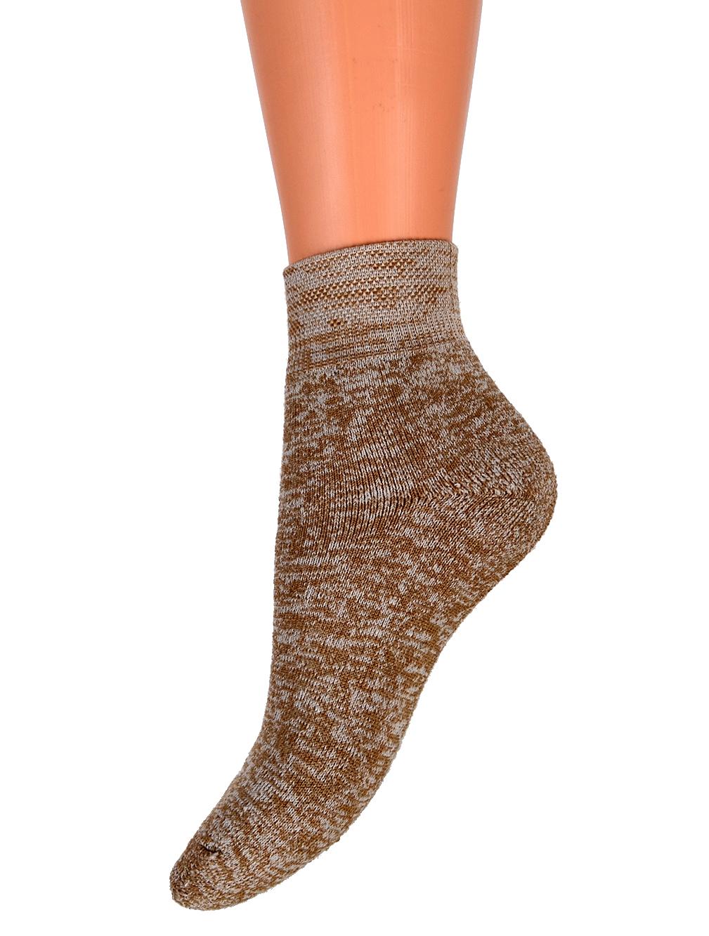 53c9b4e265b Ponožky froté s velbloudí vlnou a měděnou přízí empty